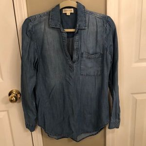 Anthropologie Denim blouse